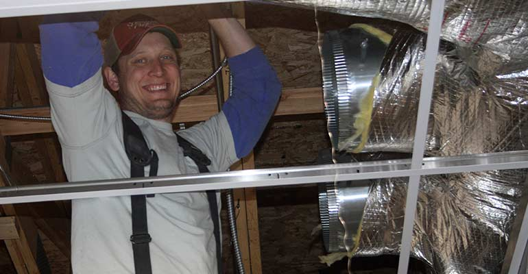 how to clean air ducts in home video