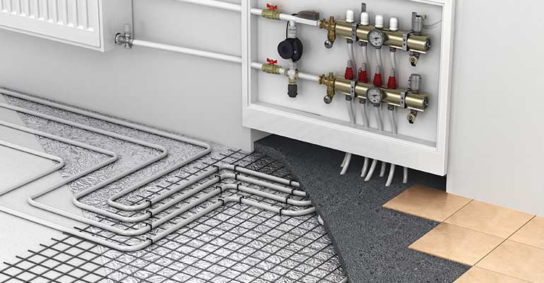Radiant Floor Heating Installation And Repair Services Fargo ND - How to install a radiant floor heating system
