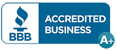 We are a proud A+ BBB Accredited company